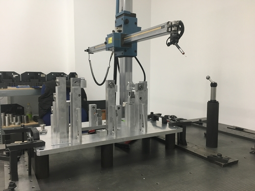 Measurement manual arm measuring machine 3D adjustment